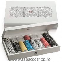 Set de poker in cutie lemn...
