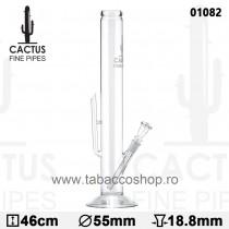 Bong din sticla Cactus 46cm