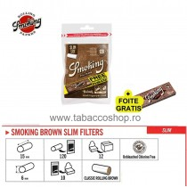 Filtre Smoking Slim Brown...