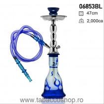 Narghilea Flame Blue cu 1...