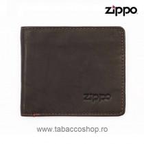 Portofel din piele Zippo Bi...