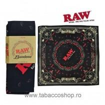 Bandana RAW Black 53x55cm