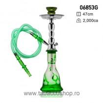 Narghilea Flame Green cu 1...