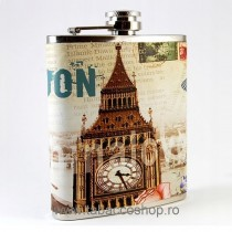 Plosca alcool London Clock...