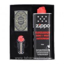 Set Zippo Black Design cu...