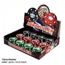 Grinder din plastic Poker...