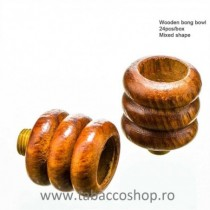 Bol de lemn 3 spirale...