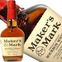 Bourbon Whisky Maker's Mark...