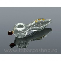 5-0214-Pipa din sticla Fish...
