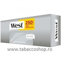 Tuburi tigari West Silver 250