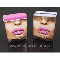 Pachet metalic Pink Lips...