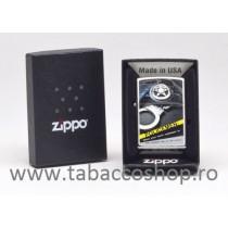 Bricheta Zippo Police Badge