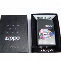 Bricheta Zippo Rainbow Lips