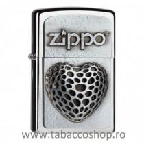 Bricheta Zippo Open Heart