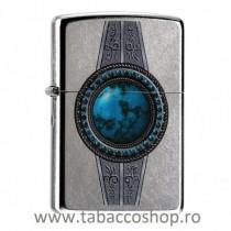 Bricheta Zippo Turquoise Belt