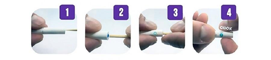 Capsule aromate tip click pentru aromat tutunul sau tigarile dvs.